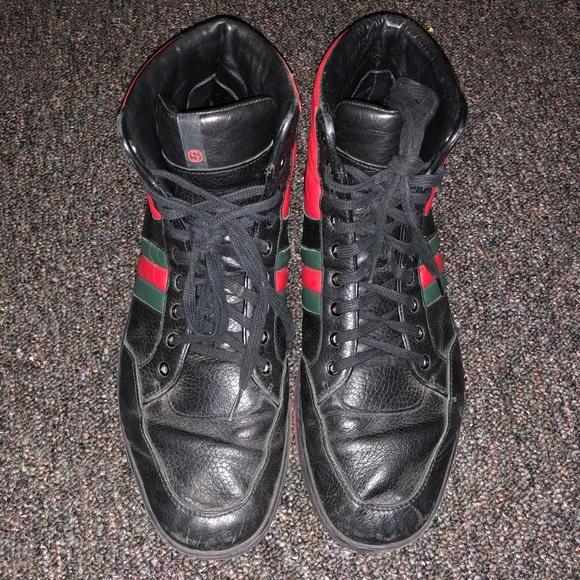 db08ef8c9ed Gucci Men's Black sneakers size 12